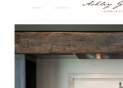 Web Design Ashley Gilbreath Interior Design