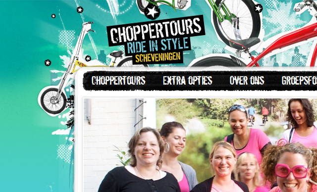 web design Chopper Tours Montgomery AL