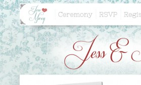 Web Design The Jenkins Wedding