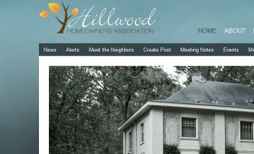 Web Design My Hillwood Homeowners Association