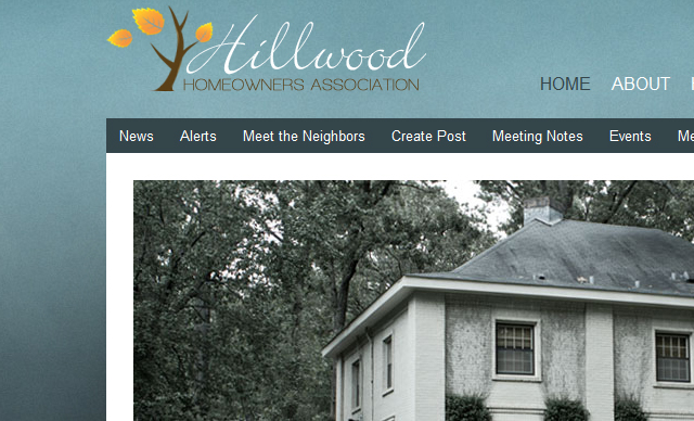 Web design Homeowners Association Montgomery AL