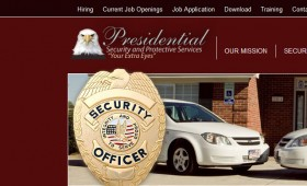Web Design Presidential Security and Protective Services