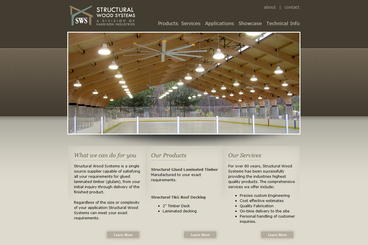 Structural Wood Systems : Web design structural wood systems montgomery al