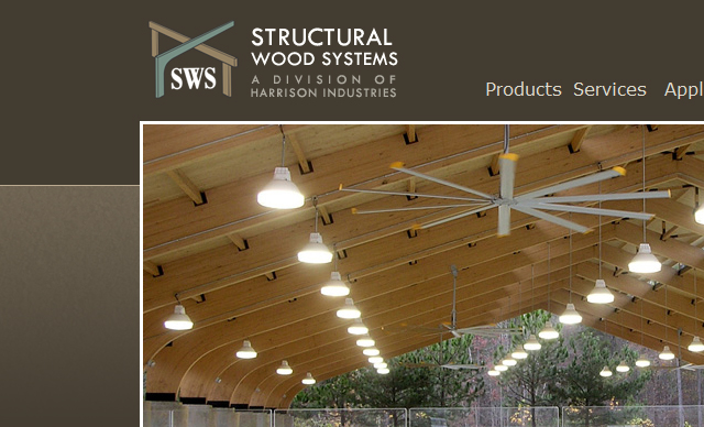 web design Structual Wood Systems Montgomery AL