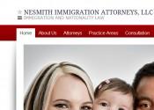 Web design Nesmith Immigration Attorney