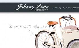 Web Design Johnny Loco Bakfiets