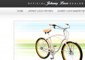 Web Design Johnny Loco fietsen
