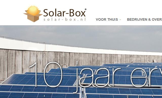 Web Design Solar-box