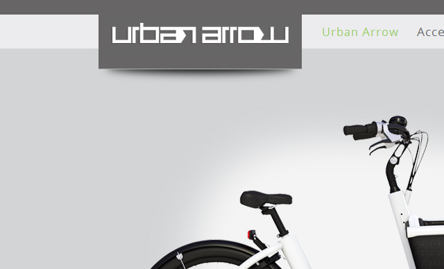 Web design Urban Arrow Bakfiets