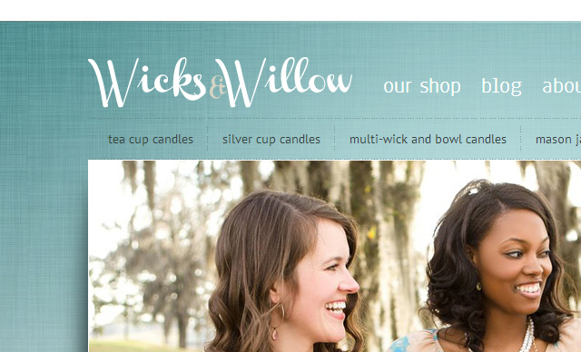 Web Design Wicks & Willow