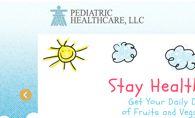 Web Design Pediatric Healthcare