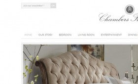 Web Design Chambers Furniture