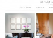 Web design Ashley Miller Design