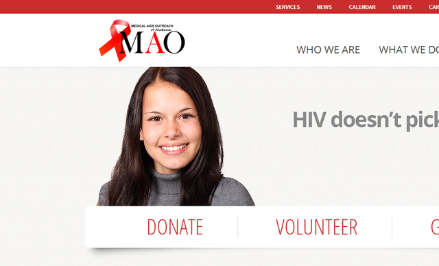 Web Design - Medical AIDS Outreach of Alabama, Inc.
