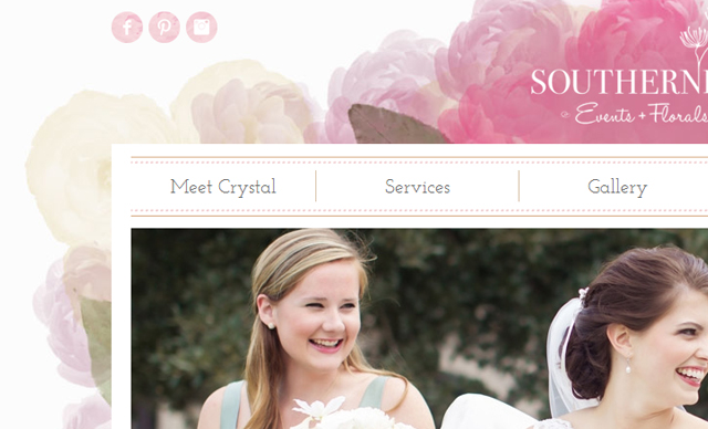Web design Southern Posies