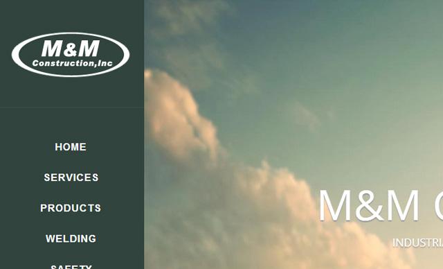 Web Design M&M Construction
